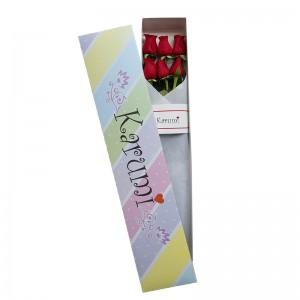 Caja 6 rosas  (C6R)