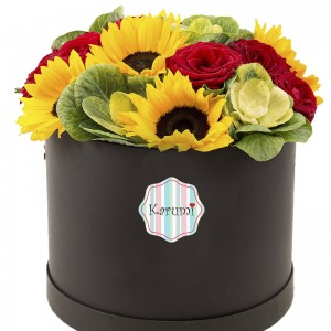 Box Girasoles y rosas (Som3213)